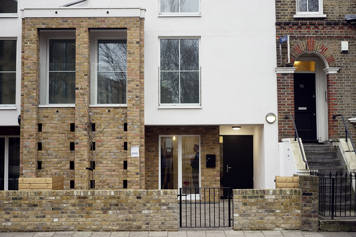 Akerman Road social housing project where warmshell was used to meet a Passivhaus standard