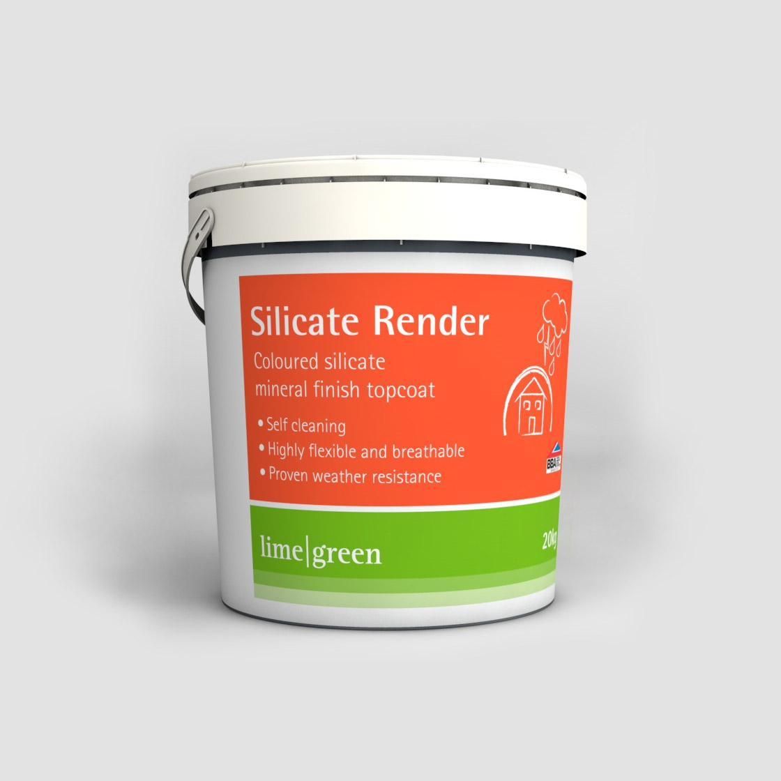 Silicate Mineral Finish Render | Lime Render | Lime Green